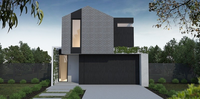 Double storey Modern House by Mink Homes