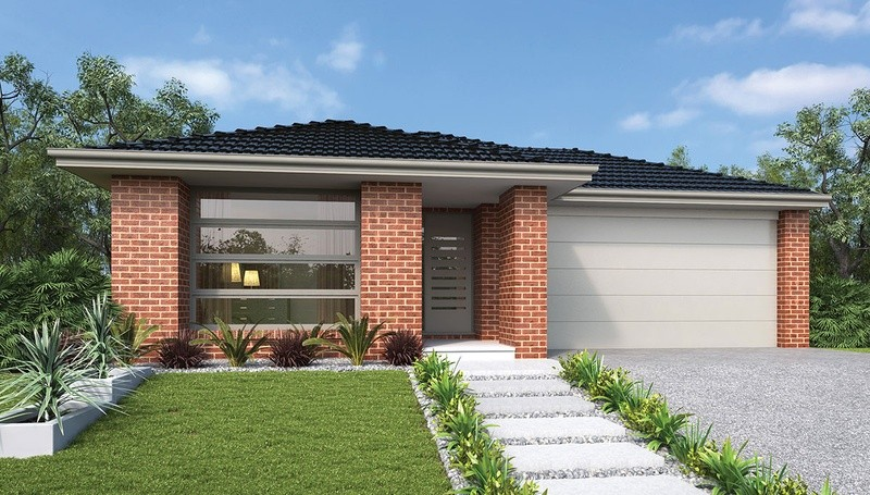 Single storey Jade House by Dennis Family Homes