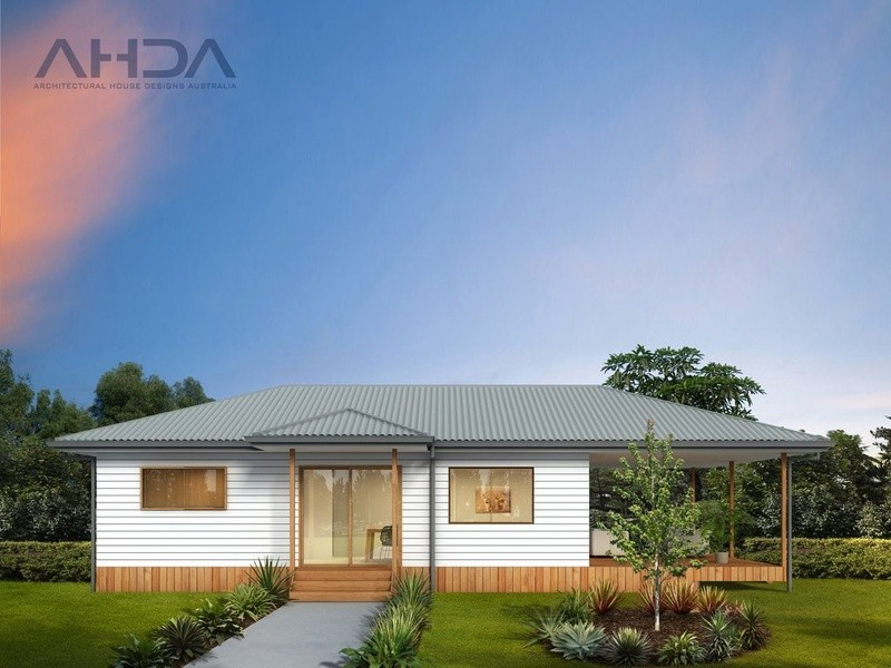 Single storey GF2007 Granny Flat by Architectural House Designs Australia