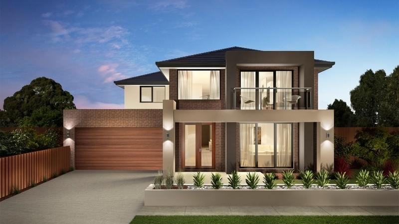 Double storey Canterbury House by Carlisle Homes