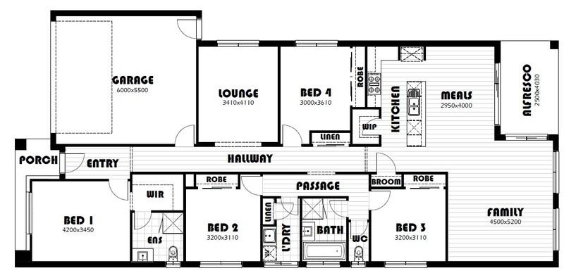 Single storey Parkville House design