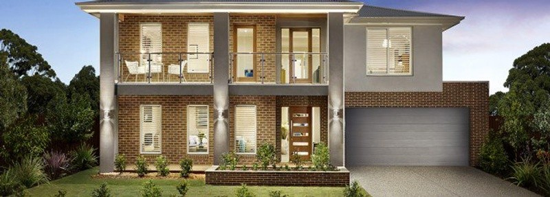 Double storey Breamlea 425 House by Fairhaven Homes