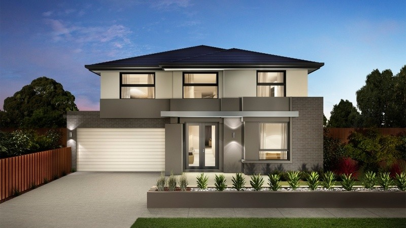 Double storey Sorrento House by Carlisle Homes