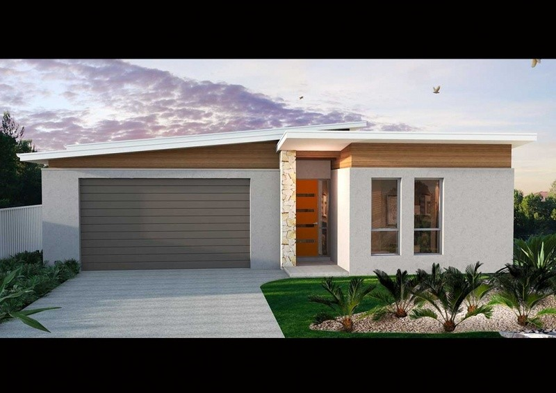 Single storey SL 205 House by Affordable Family Homes SA