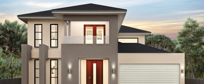 Double storey Sorrento 45 - Plato House by Singh Homes