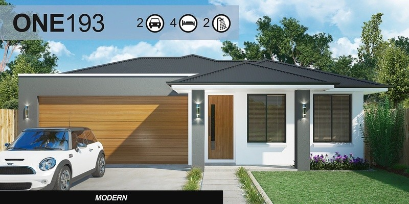 Single storey One 193 House by Homes4You Queensland