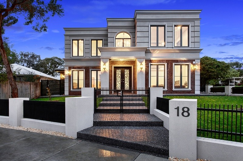 Double storey Boronia Drive, Glen Waverley - Luxury Home House design