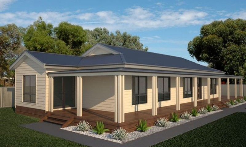 Single storey Blackbutt 2 House by anchor homes