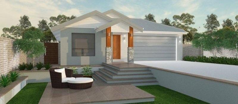 Single storey Noosa 191 House by Jazz Homes