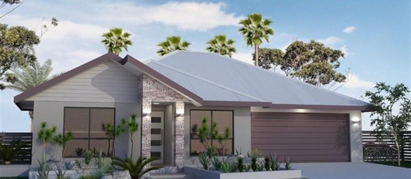 Single storey Kewarra 190 House by Jazz Homes