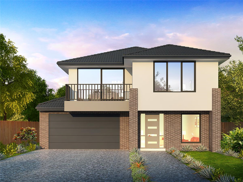 Double storey Bellevue 309 House by Orbit Homes