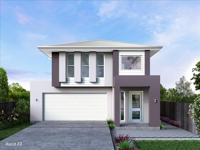 Double storey Ascot 260 - F1 House by Integrity New Homes