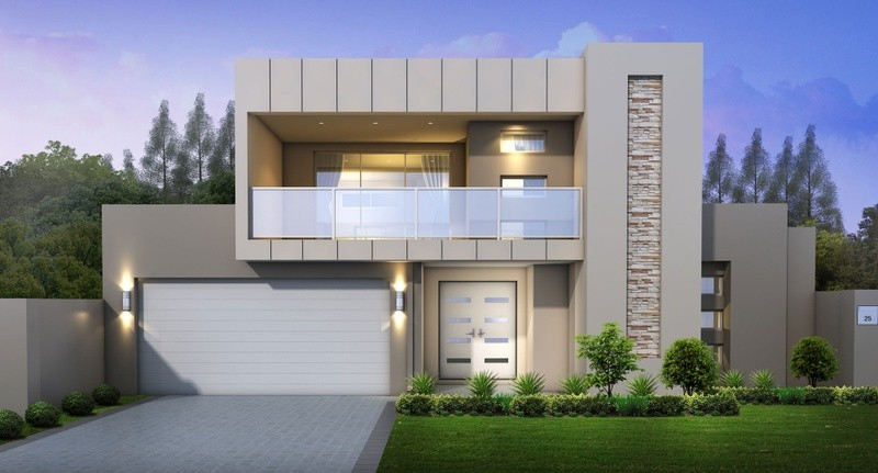 Double storey Avalon Executive House by Great Living Homes