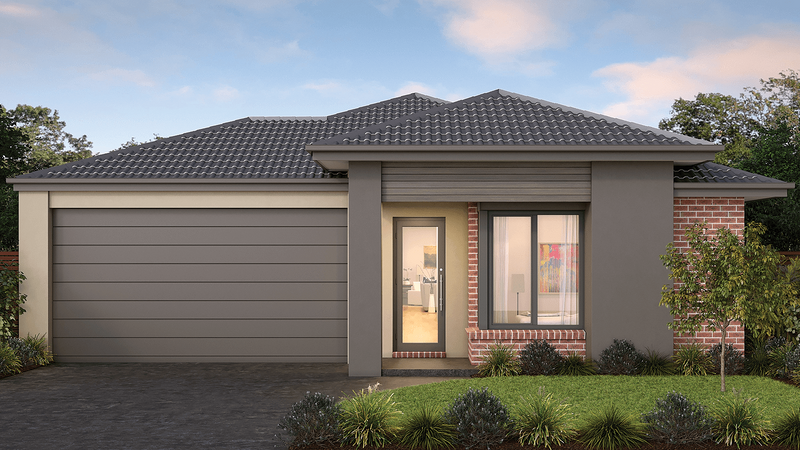 Single storey Nelson 23 House by Tick Homes