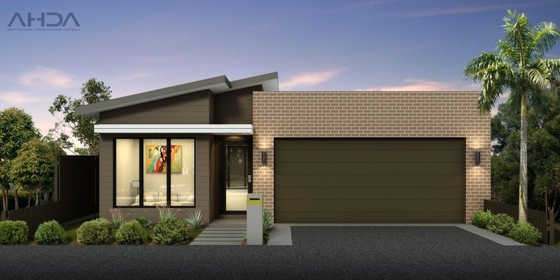 Single storey Contemporary House by Architectural House Designs Australia