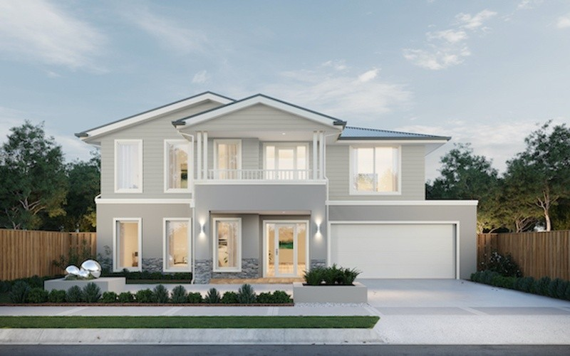 Double storey Breamlea 504 House by Fairhaven Homes