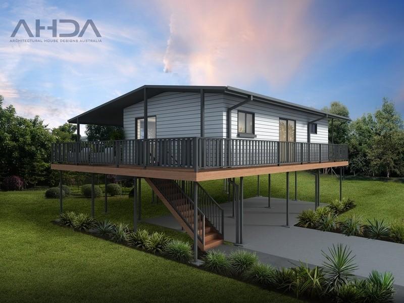 Single storey GF2009 Granny Flat by Architectural House Designs Australia