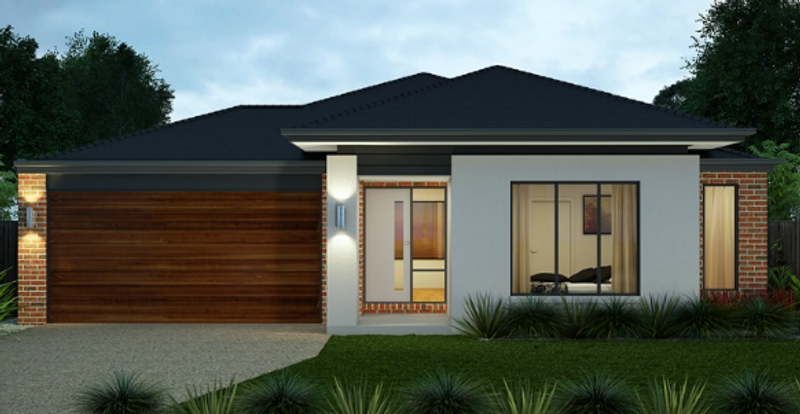 Single storey Contemporary House by Aspire Designer Homes