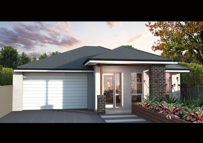 Single storey Display Home Series Family 195 House design