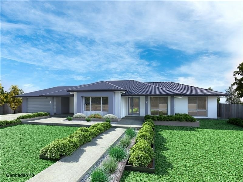 Single storey Gunnedah 205 - F3 House by Integrity New Homes