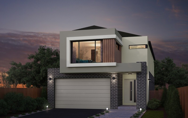 Double storey Windsor House design