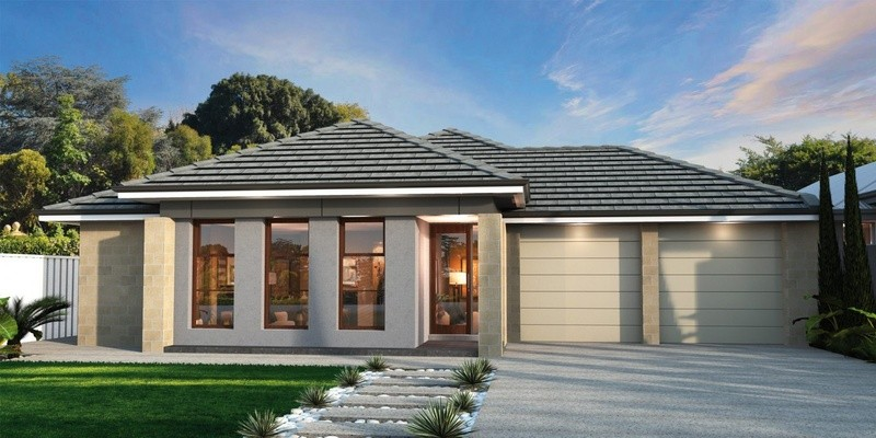 Single storey RF 215 House by Affordable Family Homes SA