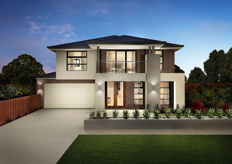 Double storey Sorrento Deluxe House by Carlisle Homes