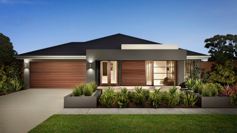Single storey Indiana House by Carlisle Homes