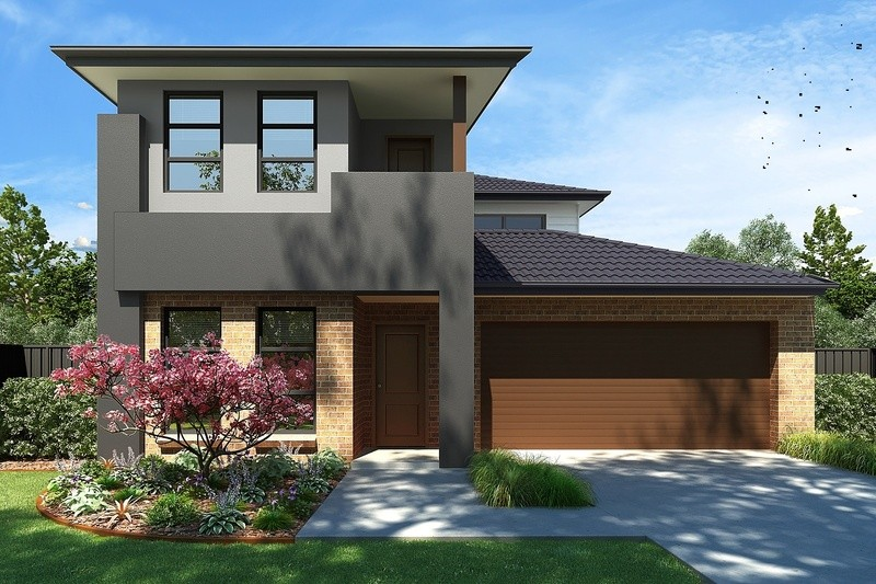 Double storey Charlotte House by True Value Homes