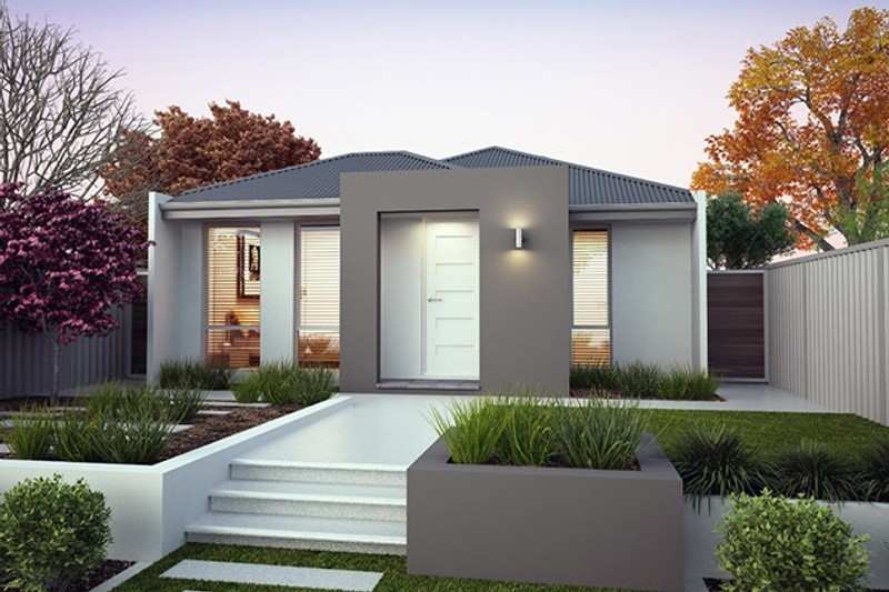 Single storey The Cooper House by B1 Homes