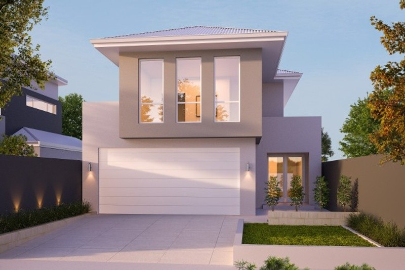 Double storey The Leigh House by New Level Homes