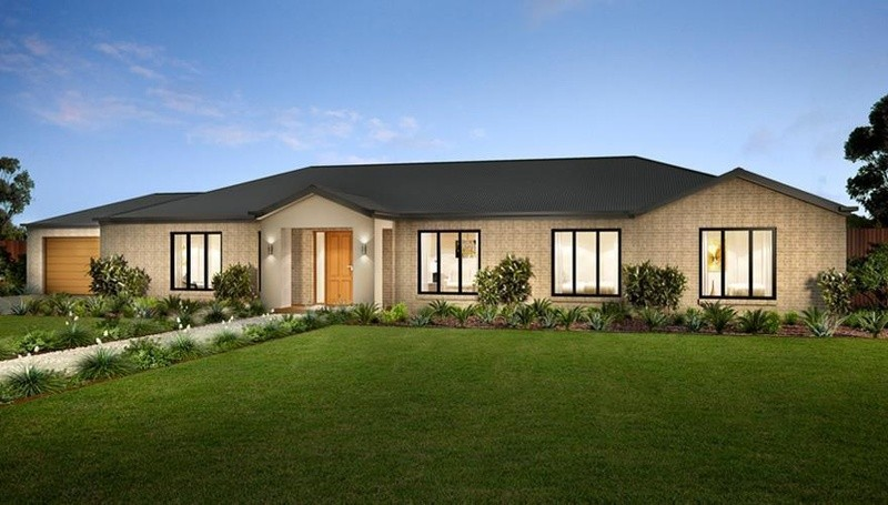 Single storey Devonport House by Dennis Family Homes