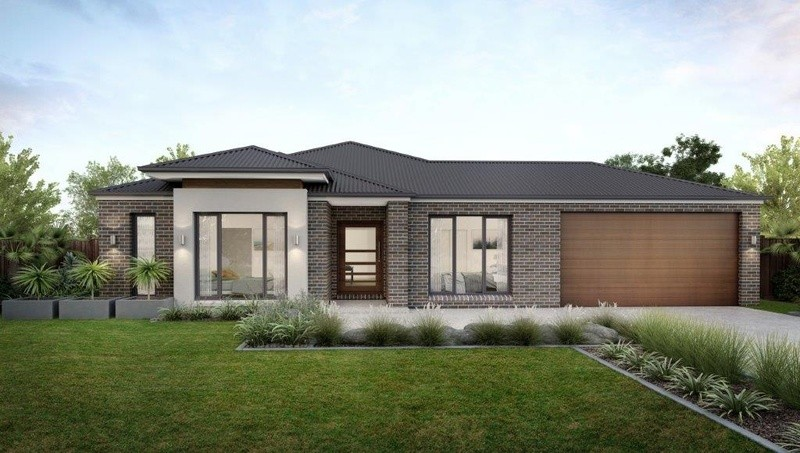 Single storey Caversham Mk3 Wide House design