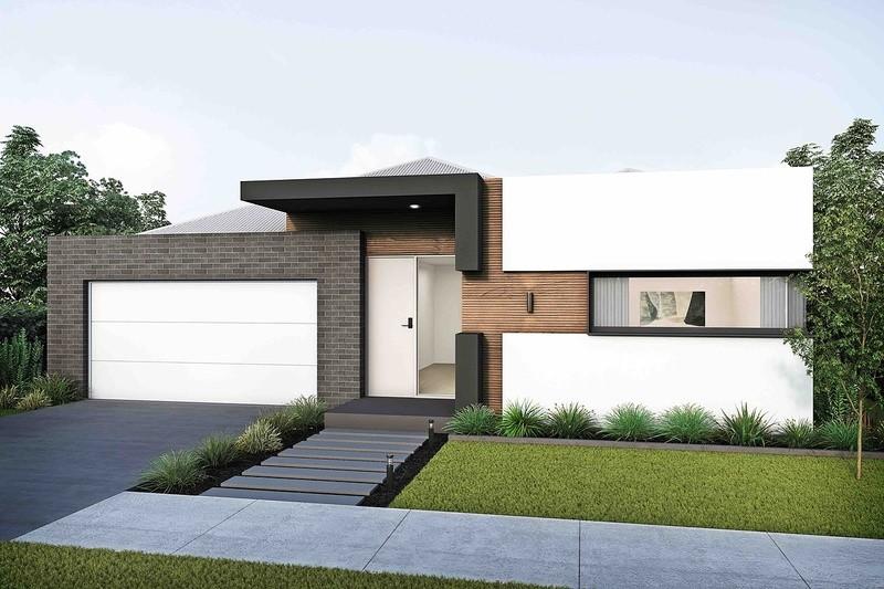 Single storey Finn House by Arli Homes