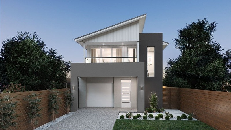 Double storey Coastal House by Pantha Homes