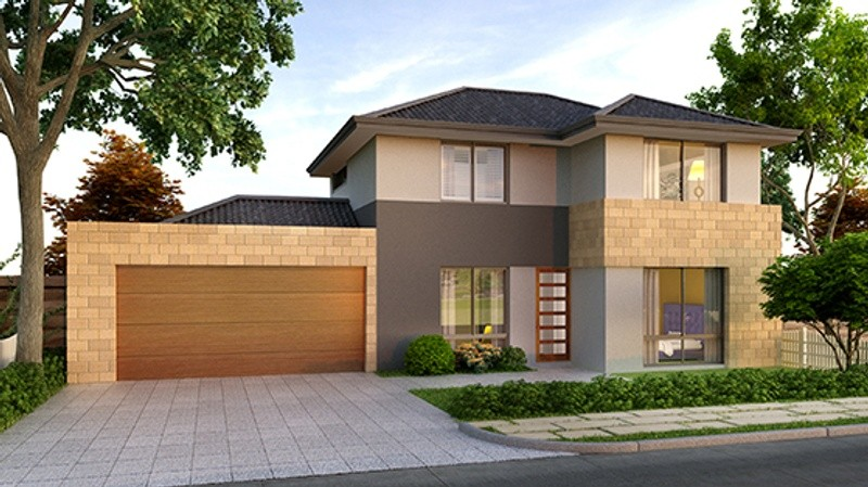 Double storey The Townhouse House by Domain By Plunkett