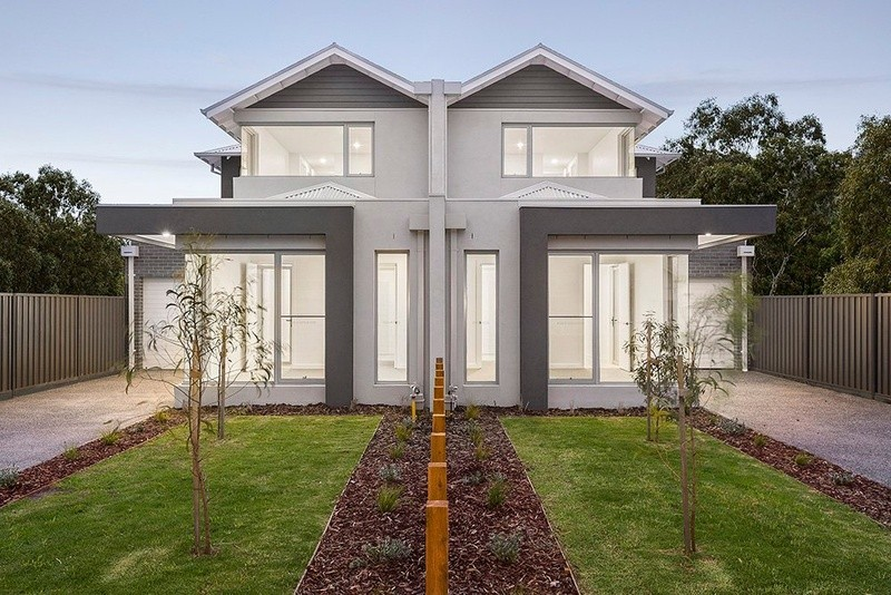 Double storey Mount Street, Altona Dual Occupancy design