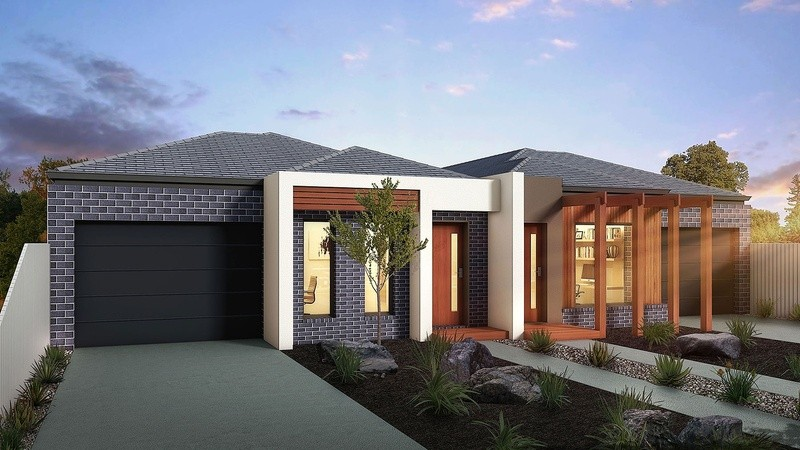 Single storey Design concept - B Dual Occupancy by Berstan Homes