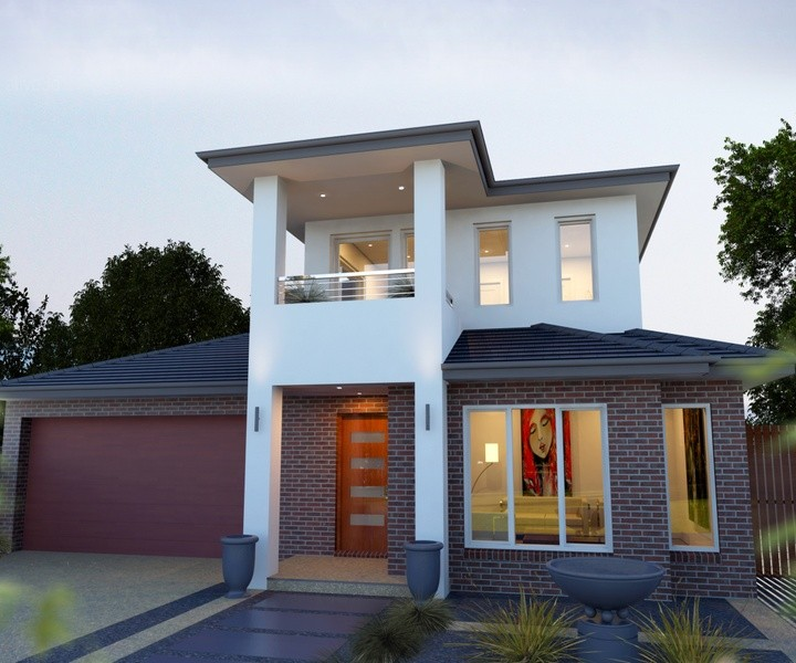 Double storey Tivoli House by Rex Homes