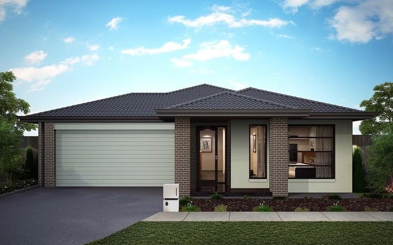Single storey Primrose 224 House by Omnia Homes