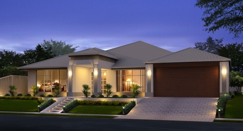 Single storey Contemporary House by Great Living Homes