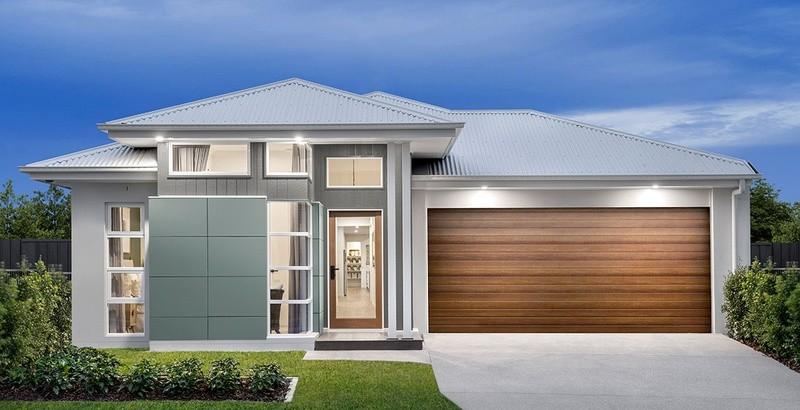 Single storey Balmoral House by Burbank Homes QLD
