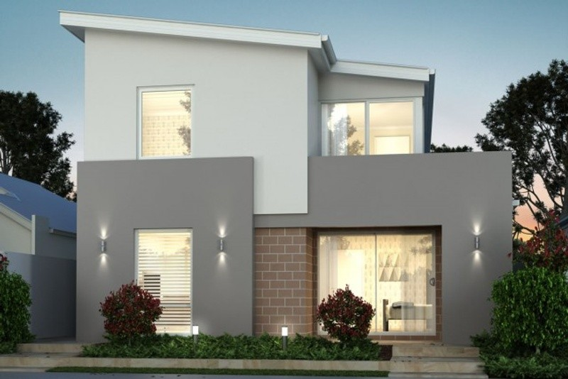 Double storey The Kirby House by New Level Homes