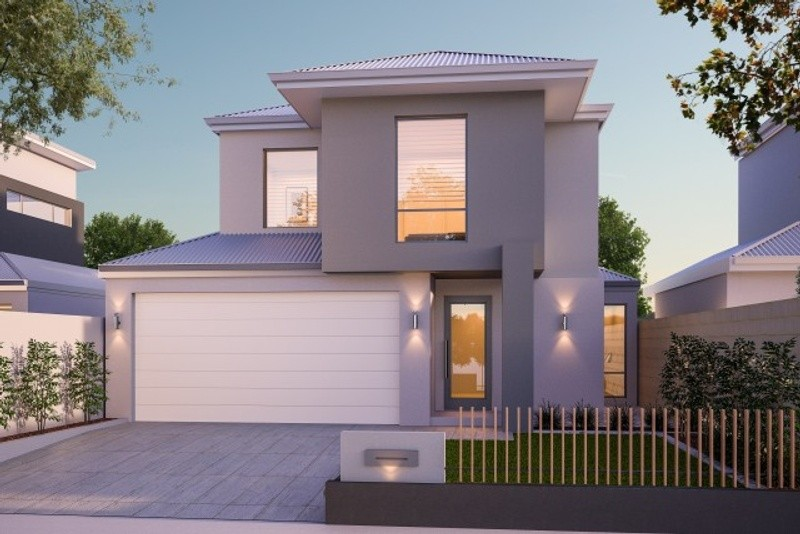 Double storey The Callahan House by New Level Homes