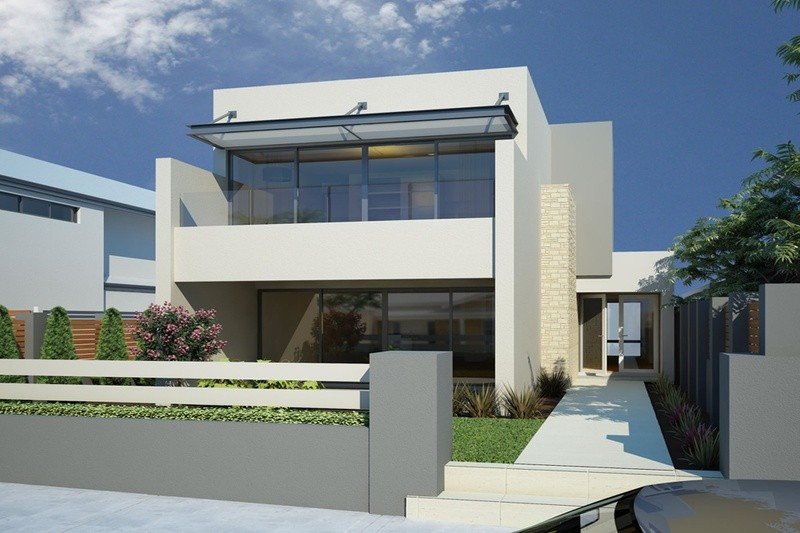 Double storey THE HUNTINGTON House by Renowned