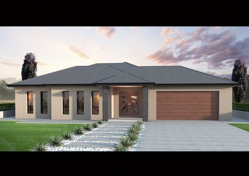 Single storey SL 200 House by Affordable Family Homes SA