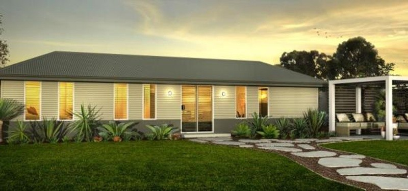 Single storey the cottesloe Granny Flat by TR Homes