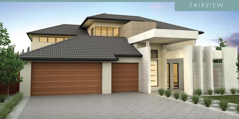 Double storey Fairview House by David Reid Homes