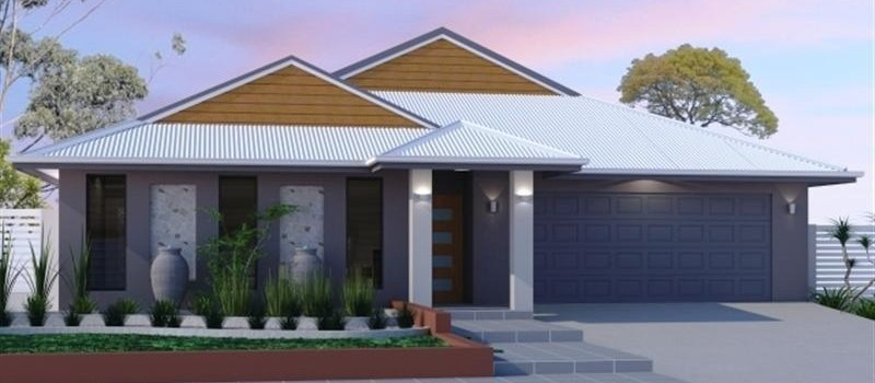 Single storey Kurrimine 225 House by Jazz Homes