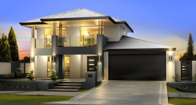 Double storey San Marco Classic House by Great Living Homes
